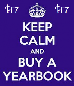 keep calm yearbook